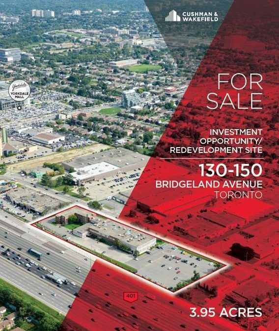AVAILABLE: Prime Office Investment/Development Opportunity in the City of Toronto